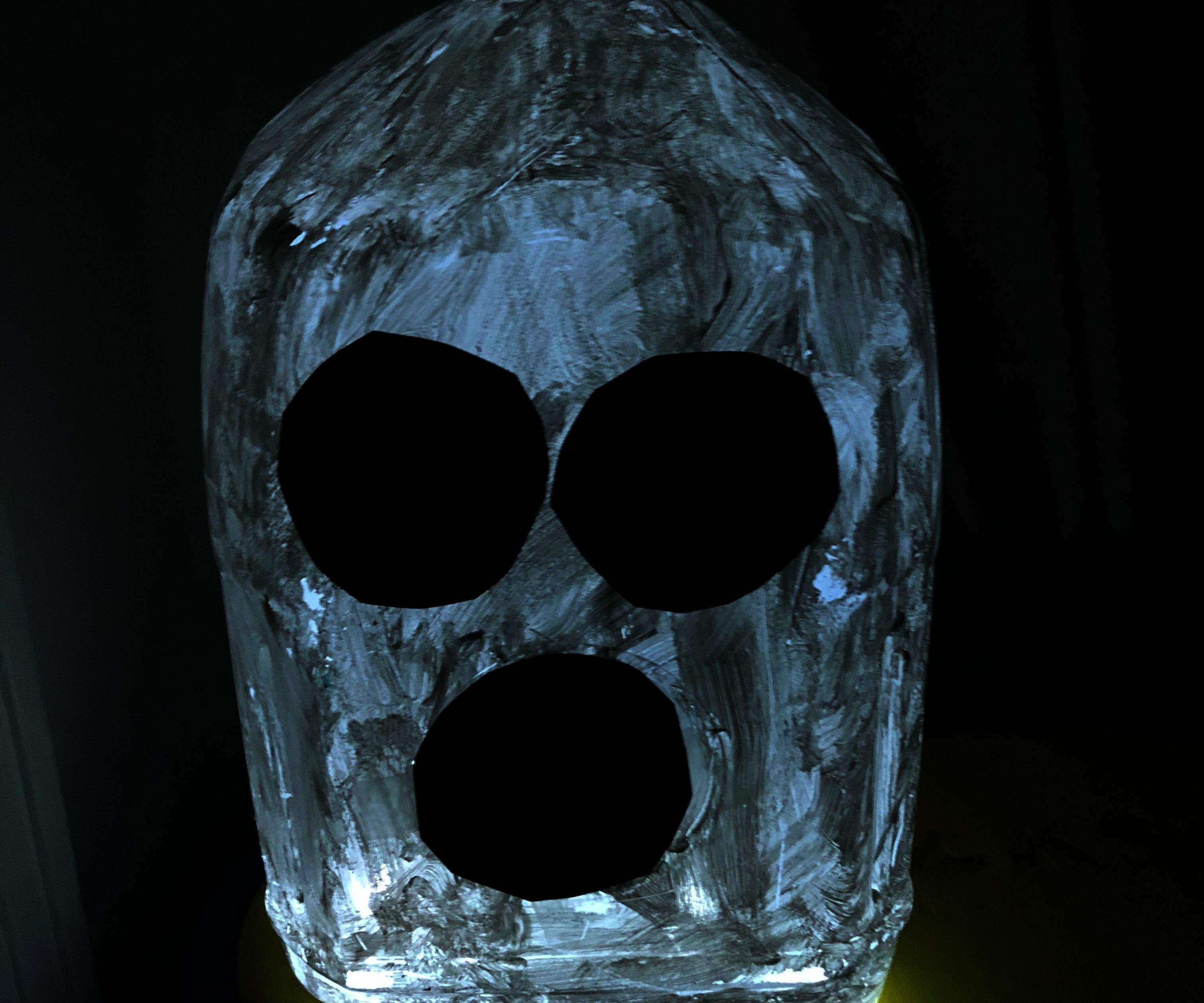 Kids Craft: Quick and Easy Milk Jug Ghost!