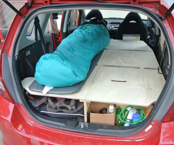 Ultimate Road Trip Car Conversion (Honda Fit)