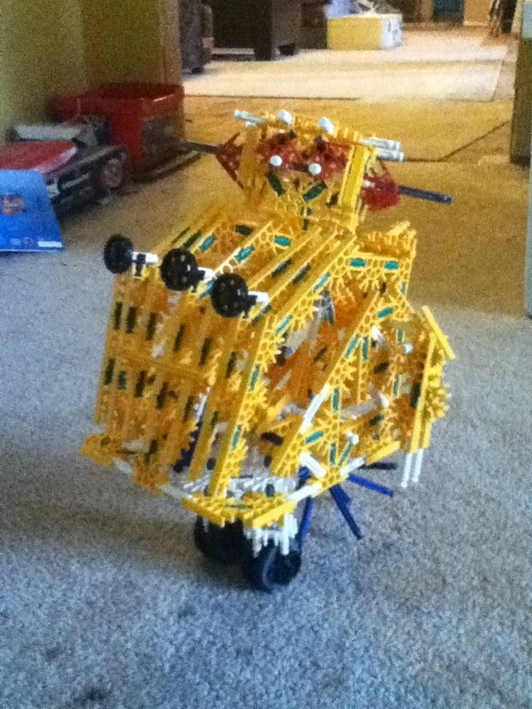 Knex Instructables Robot... Transformer!