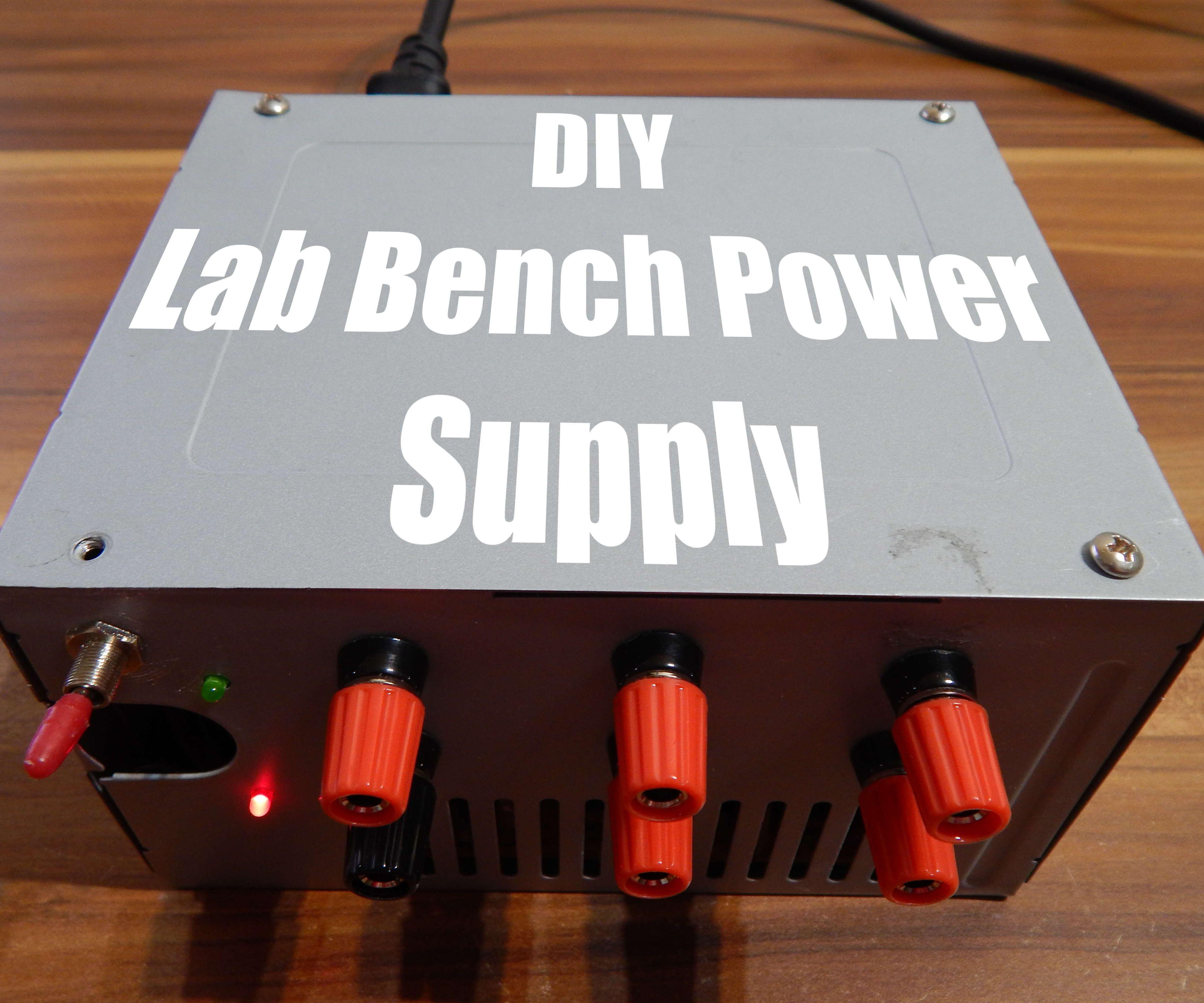 DIY Lab Bench Power Supply
