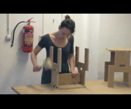 Turn and Stack!- this stool is made for your workshop