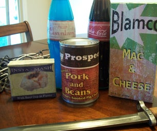Fallout 3 Food Lables
