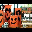 Halloween Pallet Jacko Lantern