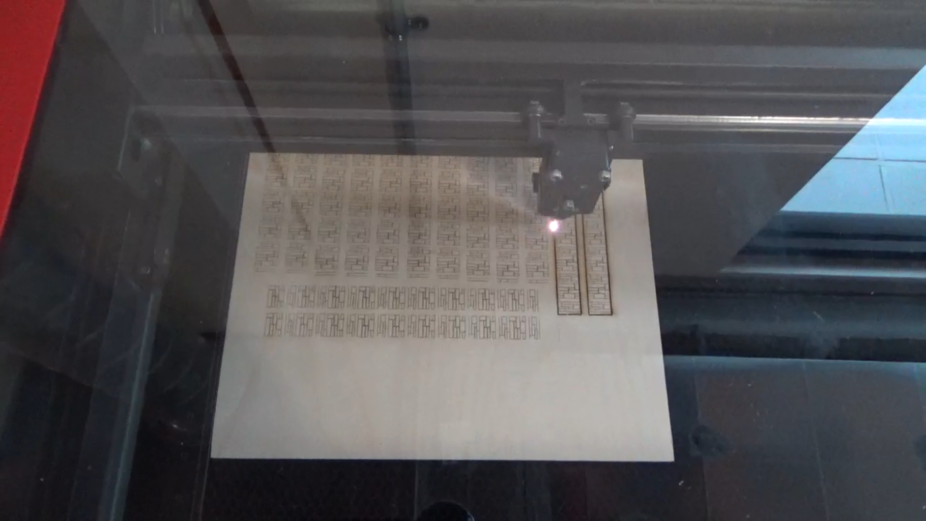 Cut the Components on a Laser Cutter