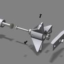 Frame Mount (2020/1515) Universial Spool Holder