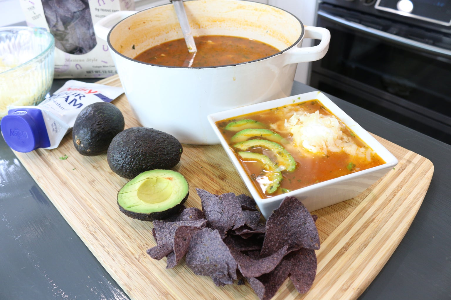 Mexican ChickenTortilla Soup