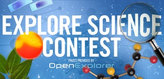 Explore Science Contest