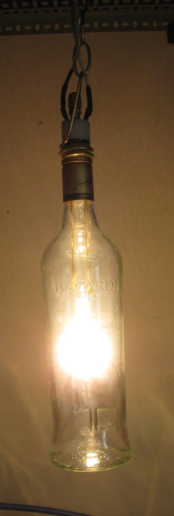 Hanging Bottle Light Bulb