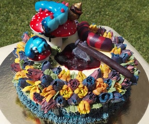 Off With Their Heads (Cheshire)!!! Cake