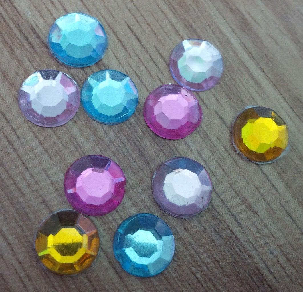 DIY Gem Stickers