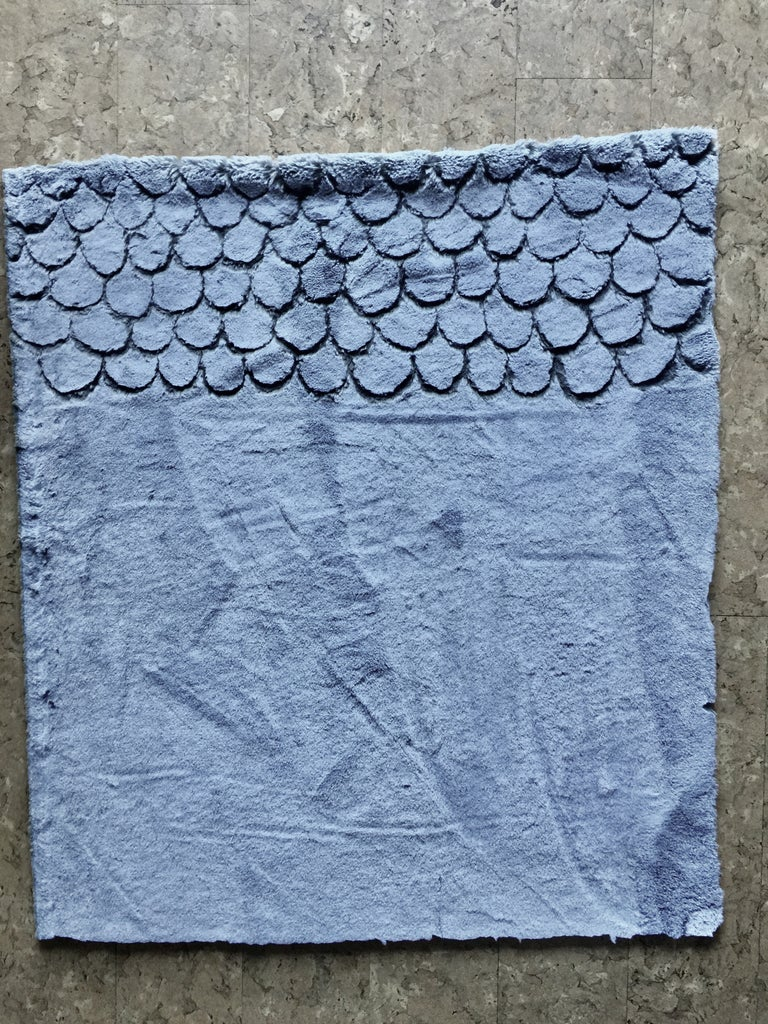 Cut Your Fabric in Half and Start Carving