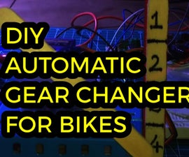 Auto Gear Shifter for Bikes With Speed Feedback