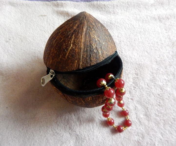 Coconut Zipper Gift Box
