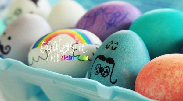Egg Decorating Experiments