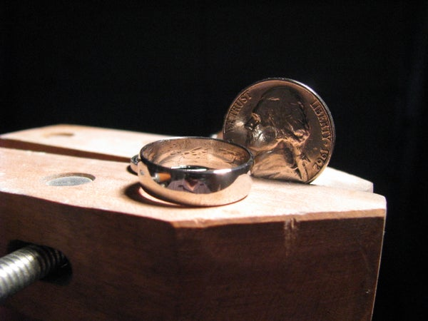 Mens 5 Cent Ring