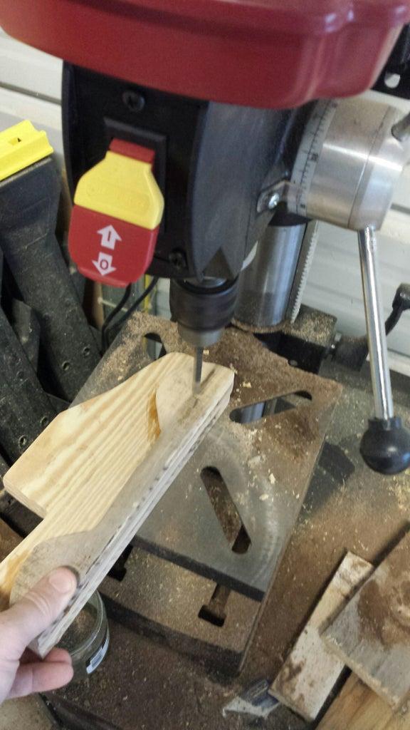 Drill Axle Holes