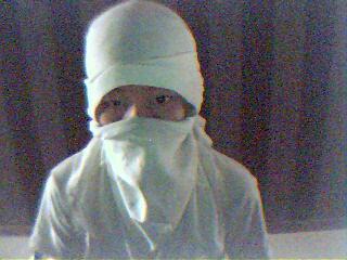 Ninja Mask With T Shirt
