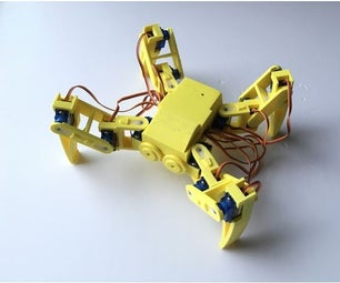 Ez Arduino Spidey - Making a 12 DOF 3D Printed Quadruped Robot