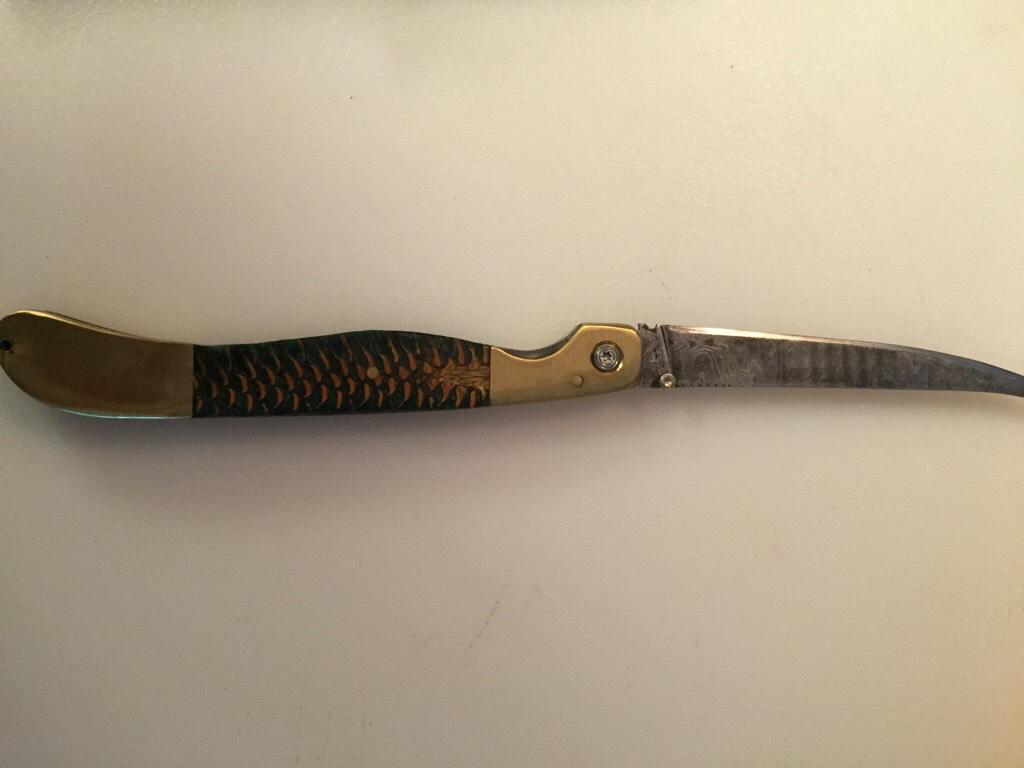 Fillet Knife for PopPop.