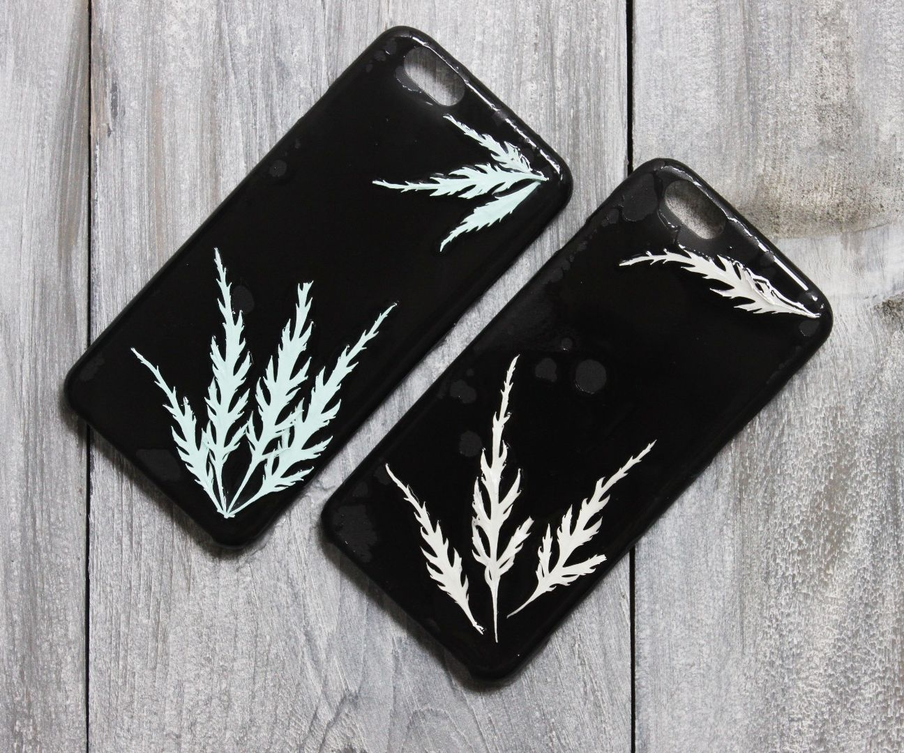 Pressed Flower or Leaves Phone Cases