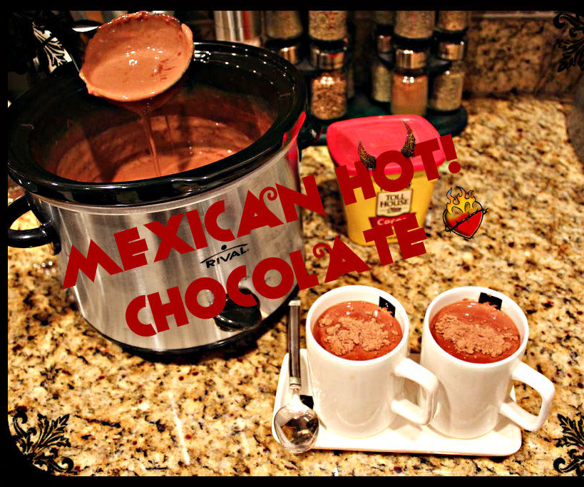 To Mexican HOT chocolate...and beyond!!