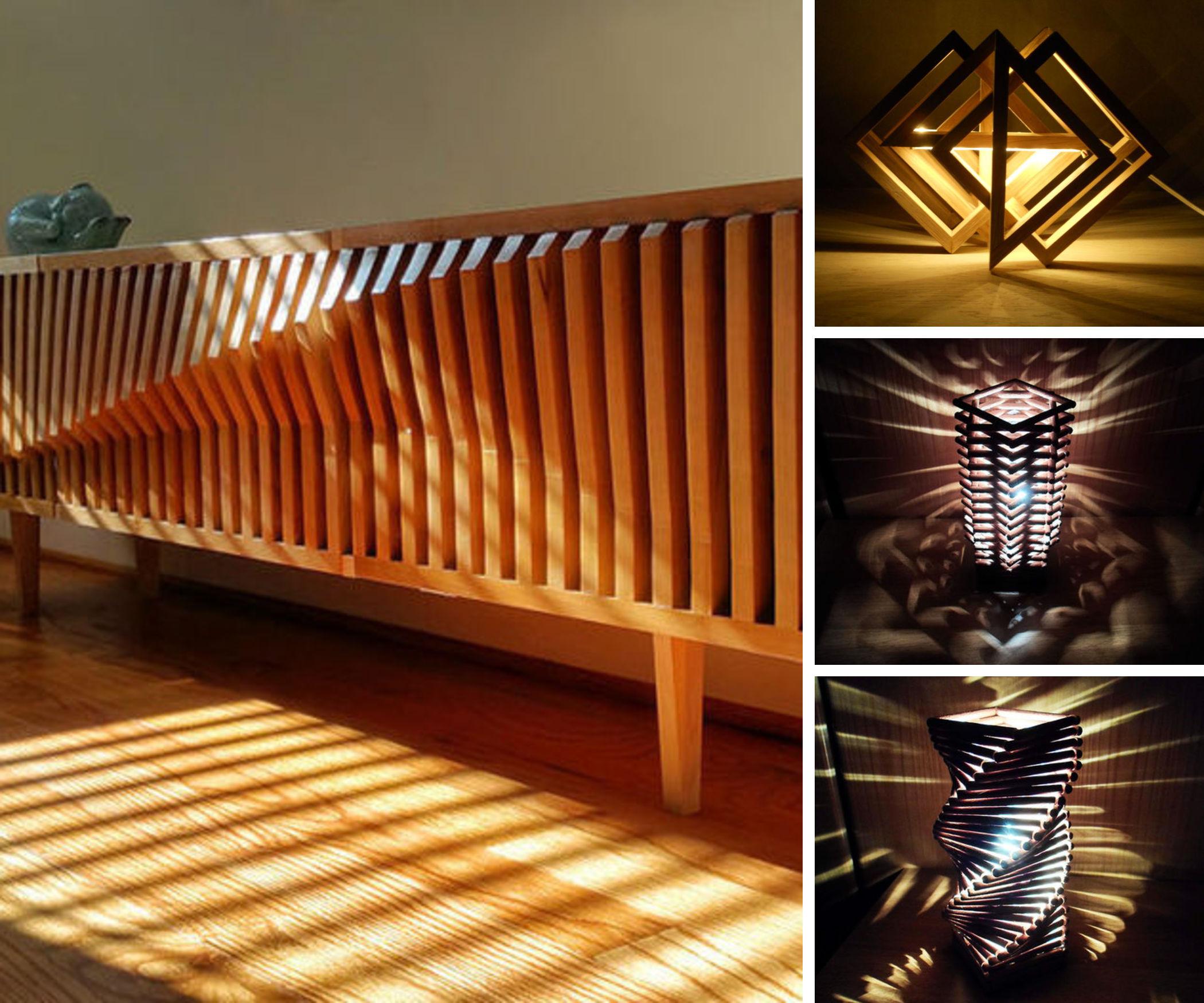 geometry meets furniture