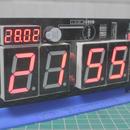 How to Make NTP Clock Using ESP-12E and 74HC595 [V2.0]