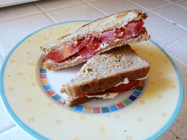 Perfect Tomato Sandwich