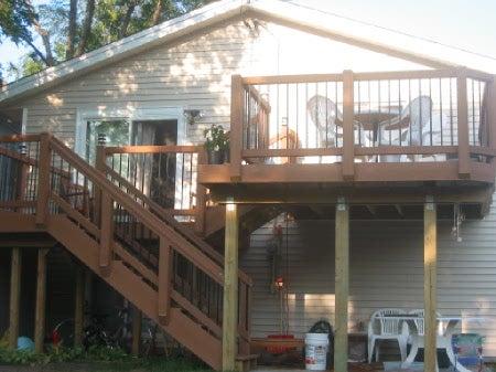 Bi-Level Deck and Patio