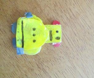Hot Glue Instructables Robot