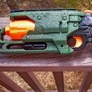 Nerf Hammershot Blaster Disco Glitter Blast LARP Paint