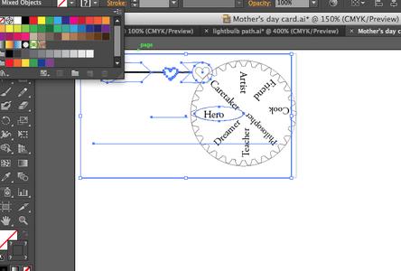 Creating the Wheel & Adding Words