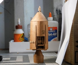 Cardboard Model Apollo Command Module (DIY)
