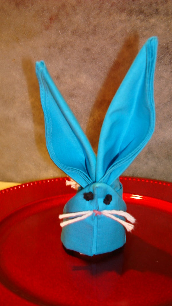 UPCYCLED- DUAL PURPOSE  EASTER CRITTER