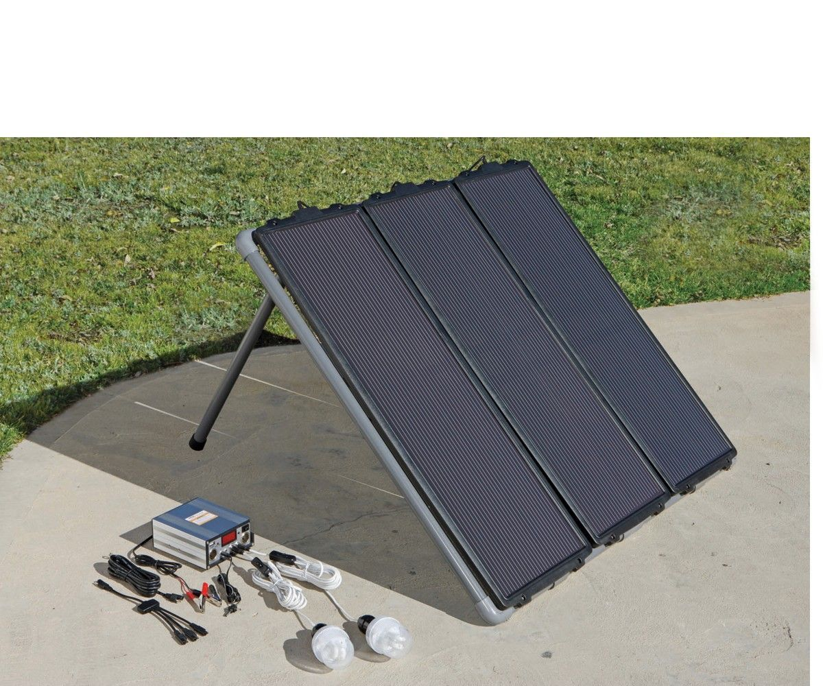 Assembling my Harbor Freight 45 Watt Solar Panel Kit - No Tools needed!
