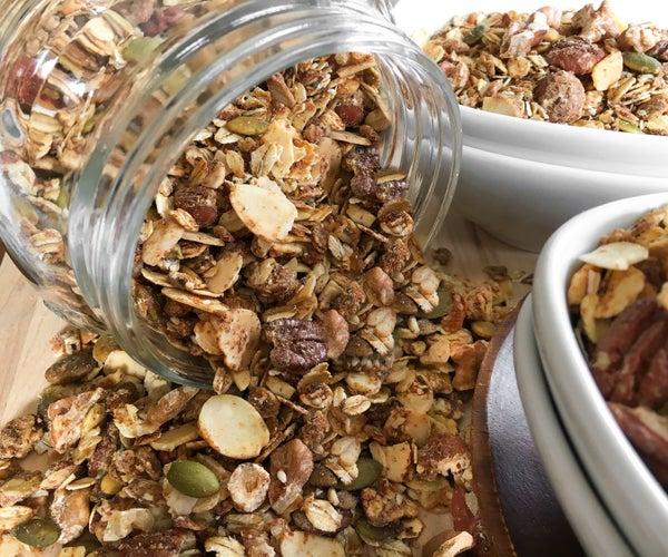 Hearty Gluten-Free Granola Recipe