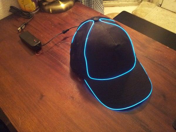 Make an EL Wire Cap