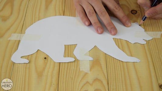 Creating the Bear Cut-out.