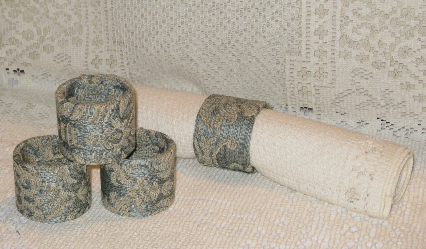 Diy Toilet Paper Roll Napkin Rings Instructables