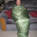 Multipurpose Snuggie and Camping Quilt