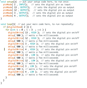 Step 3: Writing the Codes