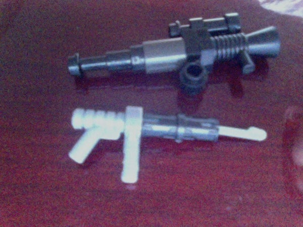2 Simple But Epic Lego Guns - Sniper and Automatic Gun