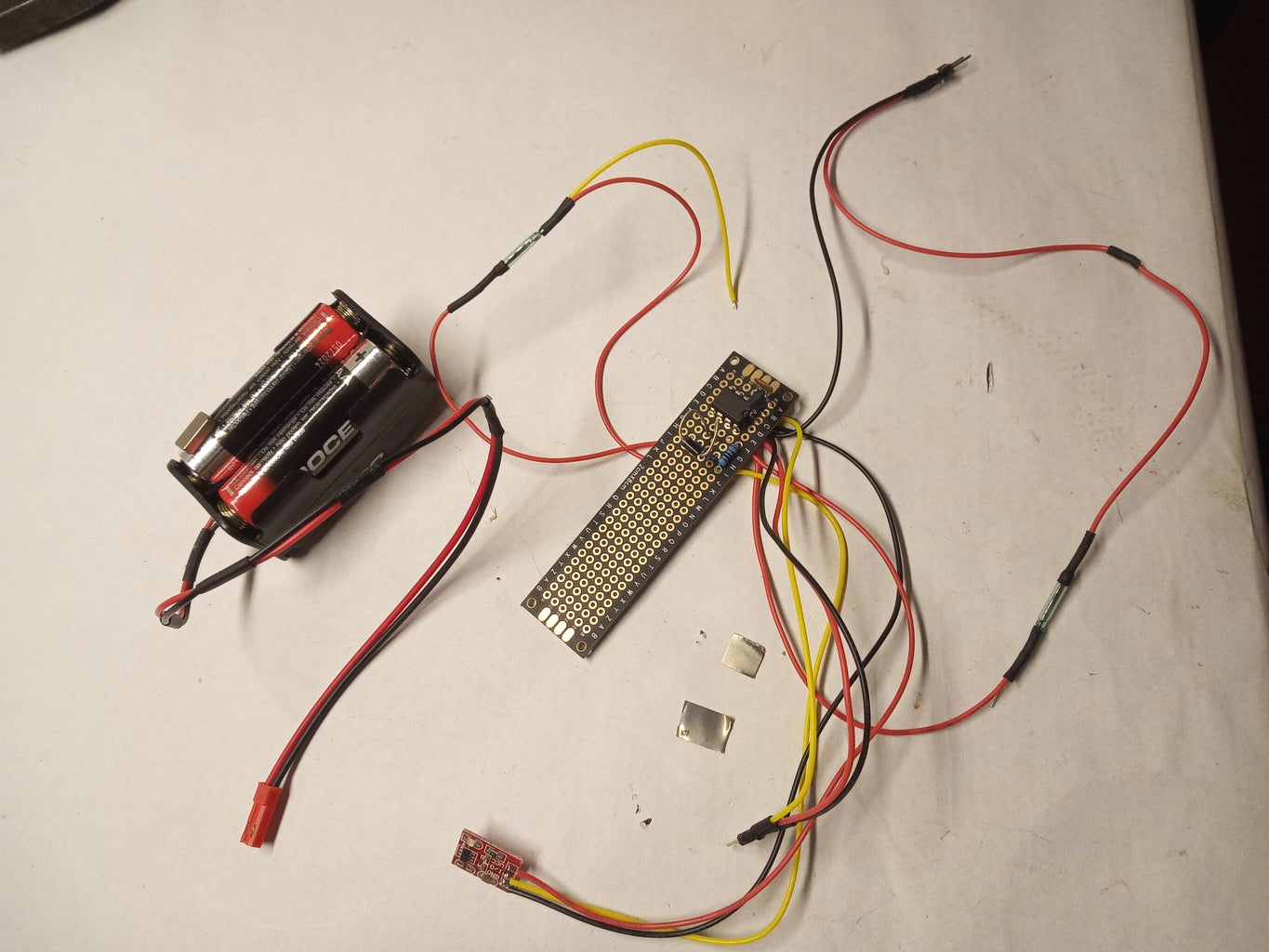 Servo Driver With LM555