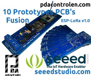 10 PCB's Professionals With Seeed Studio Fusion - ESP-LoRa Prototypes