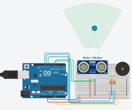 Arduino Distance Sensor Alarm