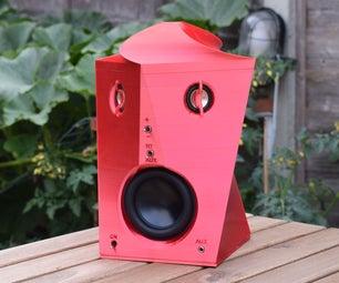 扬声器 -  3D印刷DSP便携式扬声器