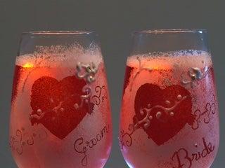 Easy N Elegant Painted Toast Glasses