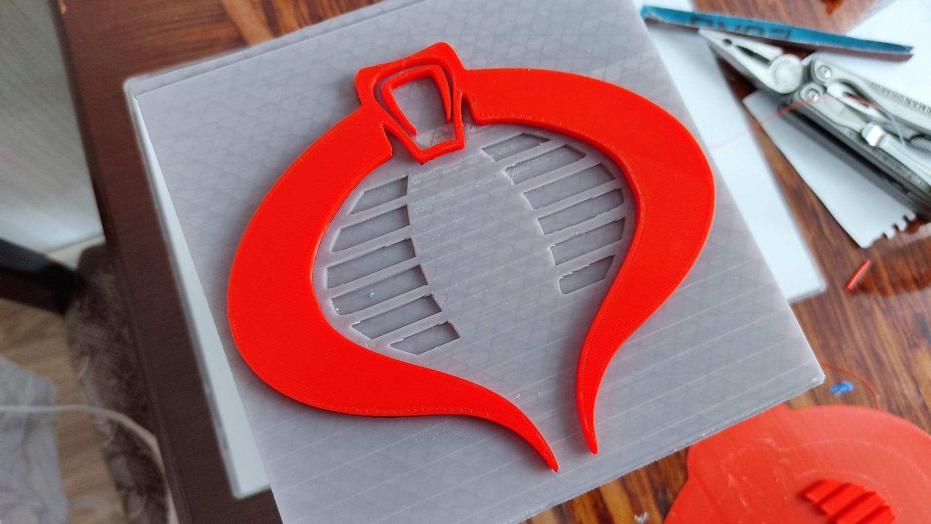 建设平台1:眼镜蛇标志
