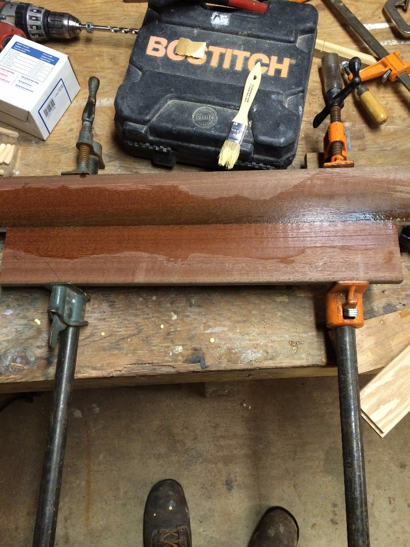 Mill the Lumber for the 'Gate'