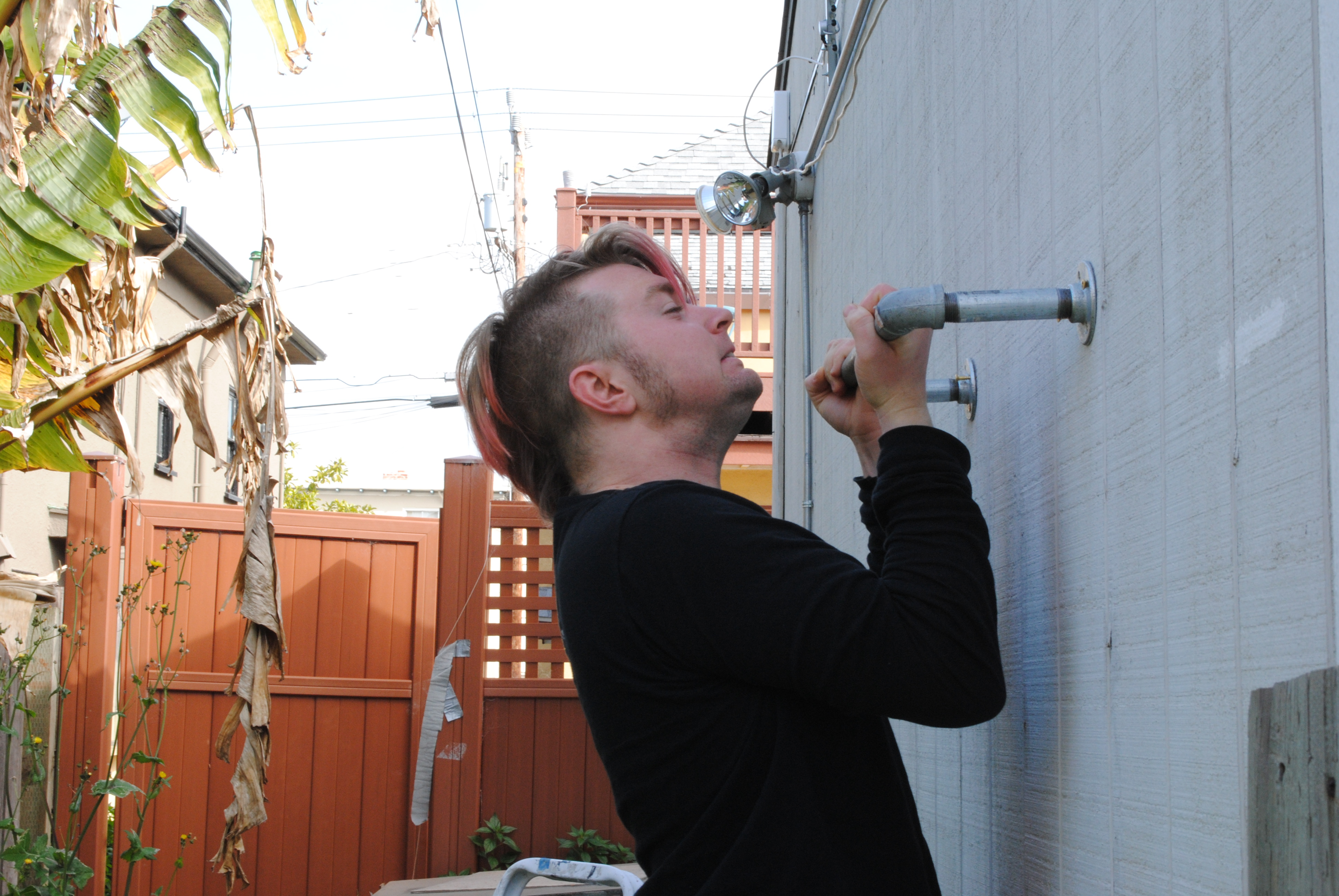 Outdoor Pull-Up Bar